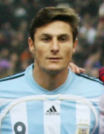 Javier Zanetti<br><font size=1>Argentine</font>