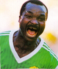 Roger Milla<br><font size=1>Cameroun</font>
